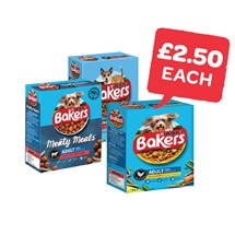 Bakers Dog Food | 1/1.1/1.2Kg