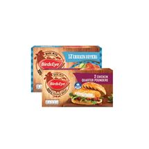 Birds Eye Chicken Quarter Pounders / Chicken Dippers | 2/12