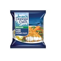 Donegal Catch Breaded Haddock / Whiting / Cod & Battered Cod | 429/450g