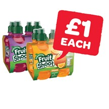 Robinsons Fruit Shoot 200ml | 4 Pack