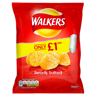 Walkers Ready Salted, 90g