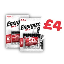 Energizer  AA / AAA | 4 Pack