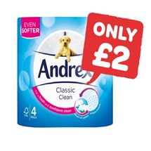 Andrex White | 4 Roll