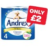 Only £2 | Andrex | 4 Roll