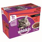 £2.50, Whiskas Pouches, 12x100g (1)