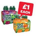Only £1 | Robinsons Fruit Shoot 200ml | 4 Pack