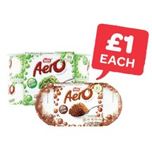 Aero Mousse Chocolate / Peppermint 58-59g | 4 Pack