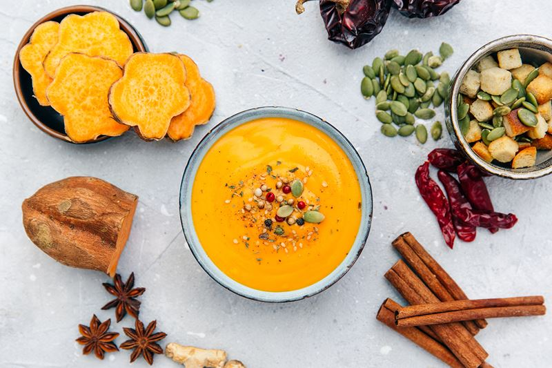 Vegan Sweet Potato Soup Recipe Spar