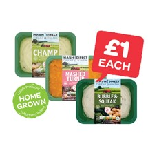 Mash Direct Champ / Bubble & Squeak / Mashed Turnip | 400g