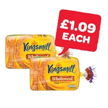 Kingsmill Tasty Wholemeal Medium / Thick | 800g
