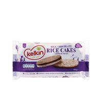 Kelkin Milk/Dark Chocolate Rice Cakes | 100g