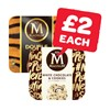 Only £2 | Magnum Double Caramel / Raspberry / White Choc Cookie / Vegan | 3