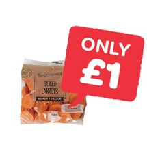 The Greengrocer Sliced Carrots | 500g