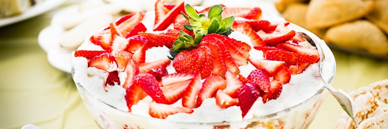 Choose Strawberry Trifle for your Valentine's Day Dessert