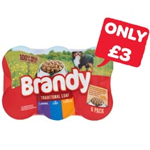 Brandy Dog Food | 6 Pack