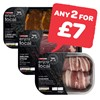 Any 2 For £7 | SPAR enjoy local Rosemary & Garlic Lamb Chops / Sirloin Steak in Peppercorn Butter / Chicken Wrapped in Bacon with Peppercorn Sauce / Stuffed Steak in Pepper Sauce | 210-430g
