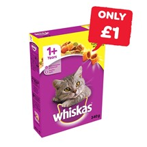 Whiskas Dry Cat Food | 340g