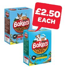 Bakers Dog Food | 1/1.2/1.1Kg