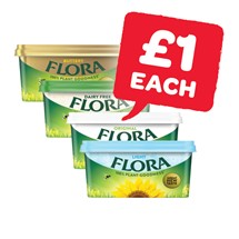 Flora Original / Light / Buttery / Dairy Free | 500g