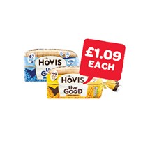 Hovis Live Good Wholemeal / Granary | 525g