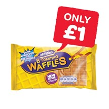 McVities Toasting Waffles | 8 Pack