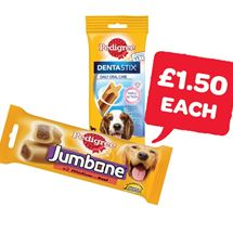 Pedigree Jumbone / Dentastix | 180/200g