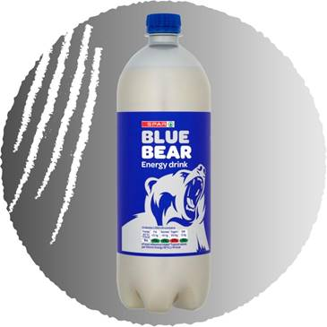 Blue Bear Energy, 500ml