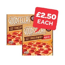 Goodfellas Takeaway Pizza | 553/555/596g