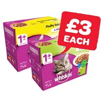 Whiskas Cat Food | 12 Pack