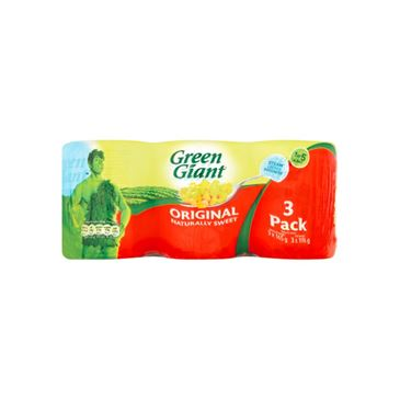 Green Giant Sweetcorn 198g | 3 Pack