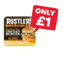 Rustlers Southern Fried Chicken Burger | 145g