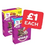 Only £1 | Whiskas Dry Cat Food | 340g
