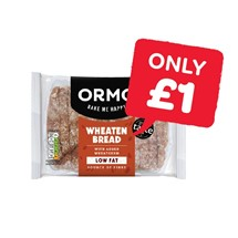 Ormo Sliced Wholemeal Wheaten | 400g