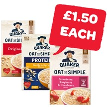 Quaker Oatso Simple / Protein / Heaps Of Fruit | 8/9/10/12 Pack