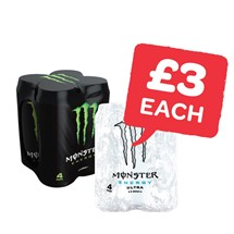 Monster Energy 500ml | 4 Pack