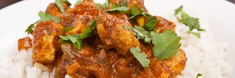 A simple turkey curry with rice is one of our favourite Christmas leftover recipes