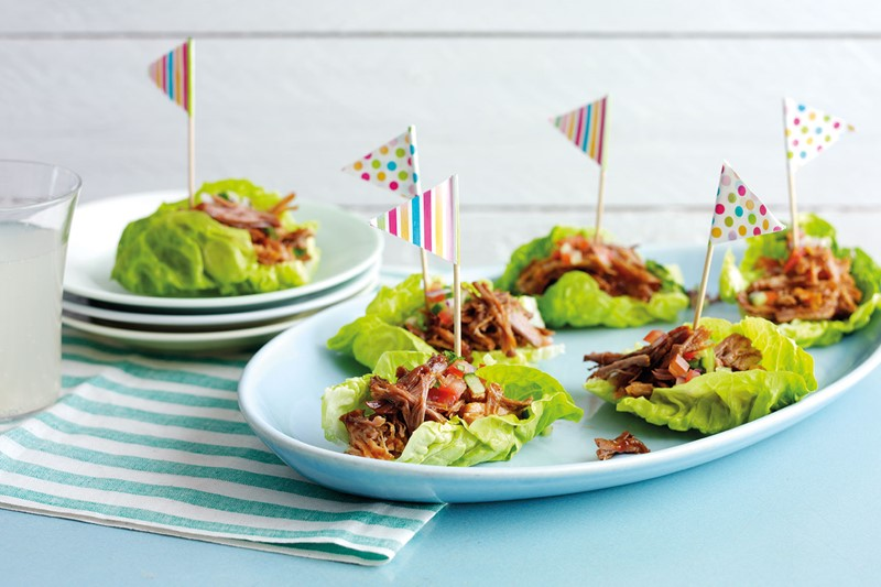 Pulled Pork Lettuce Boats