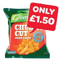 Greenisle Chunky Oven Fries | 1.5Kg