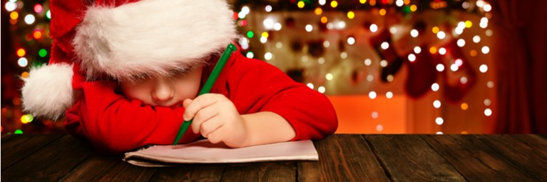 Christmas Eve Ideas for Kids: Writing a List
