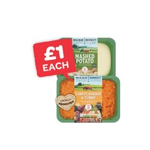 Mash Direct Mashed Carrot & Parsnip / Mashed Potato  | 400g