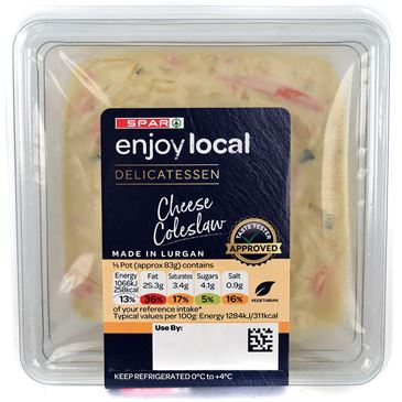 SPAR Enjoy Local Cheese Coleslaw