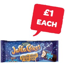 McVities Jaffa Yule Logs | 5 Pack