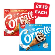 Cornetto Classic / Strawberry | 6