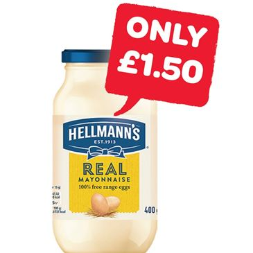 Hellmans Mayonnaise | 400g