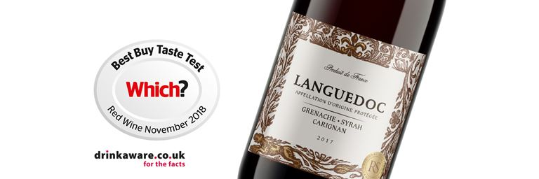 Pick up a bottle of Which? best buy taste test winning Languedoc red wine at your nearest convenience store