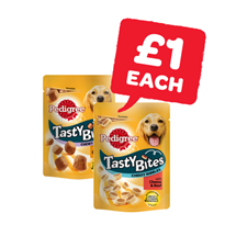 Pedigree Tasty Bites | 130/140g