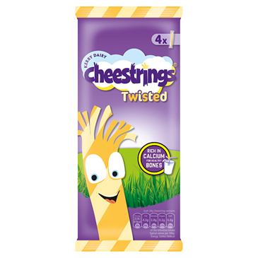 Cheestrings Twisted Cheese | 4x20g