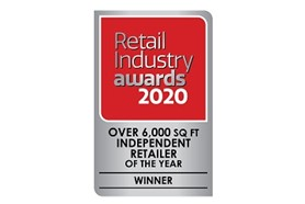 Independent Retailer of the Year over 6,000sq ft