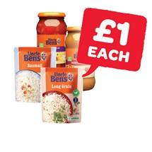 Uncle Bens Express Rice / Uncle Bens Sauce | 250/440/450g