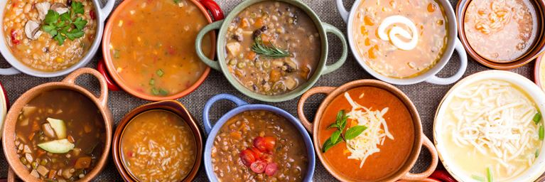Nutritious Soups in November